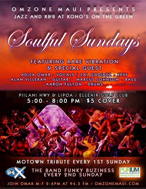 Every Sunday at Kono's On The Green