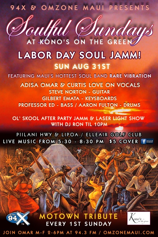 Soulful Sundays labor day